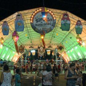 São João de Maracanaú tem 17 dias de festa (FOTO: Reprodução/TV Jangadeiro)