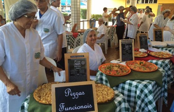 Pizzas nas categorias tradicional e saudável serão expostas para degustação (FOTO: Divulgação/Sesc Fortaleza)