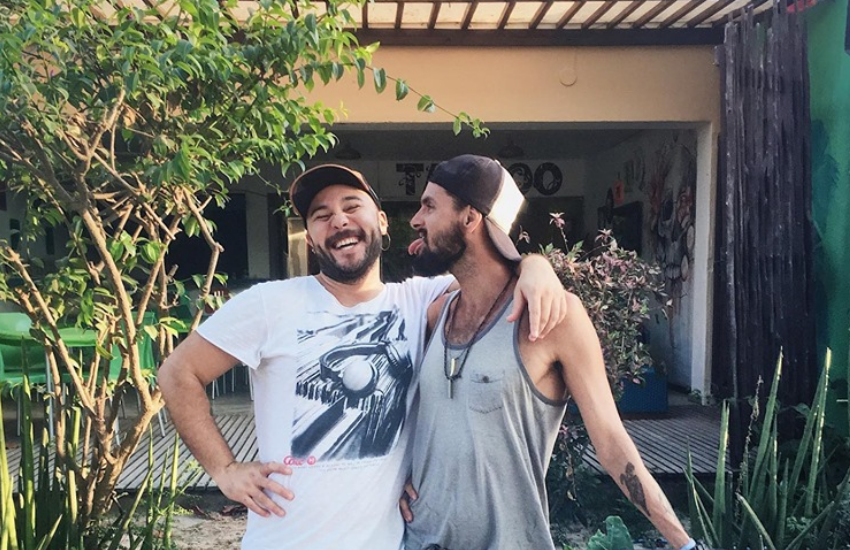 Juan e Xavier são donos da rede de hospedagem MyM (FOTO: Reprodução / Instagram)