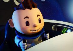 Astrobaldo sonha em ser astronauta e imagina tudo a sua volta como um espaço sideral (FOTO: Arquivo Pessoal)
