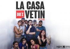 """""""La Casa du'z Vetin"""" promete fazer referência à série original, mas adaptando à realdiade periférica de Fortaleza (FOTO: Lucas Calisto)"""