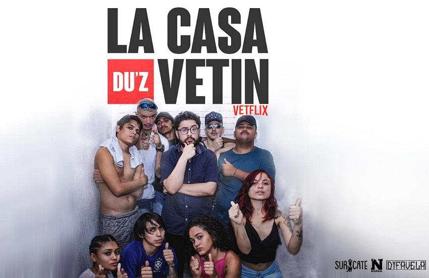 """La Casa du'z Vetin: Cearenses criam versão da série """"La Casa de Papel"""" em Fortaleza"""