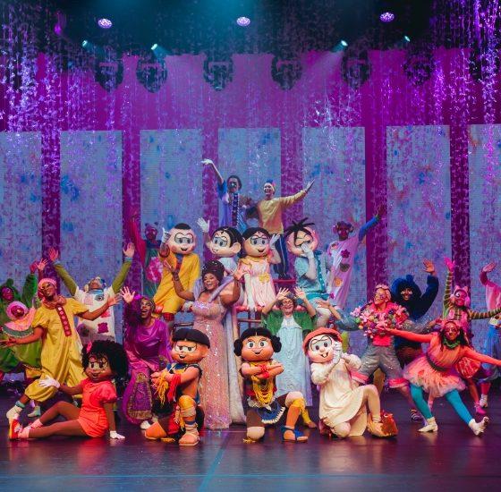 Espetáculo Brasilis faz apresentações no Teatro RioMar Fortaleza (FOTO: Divulgação)