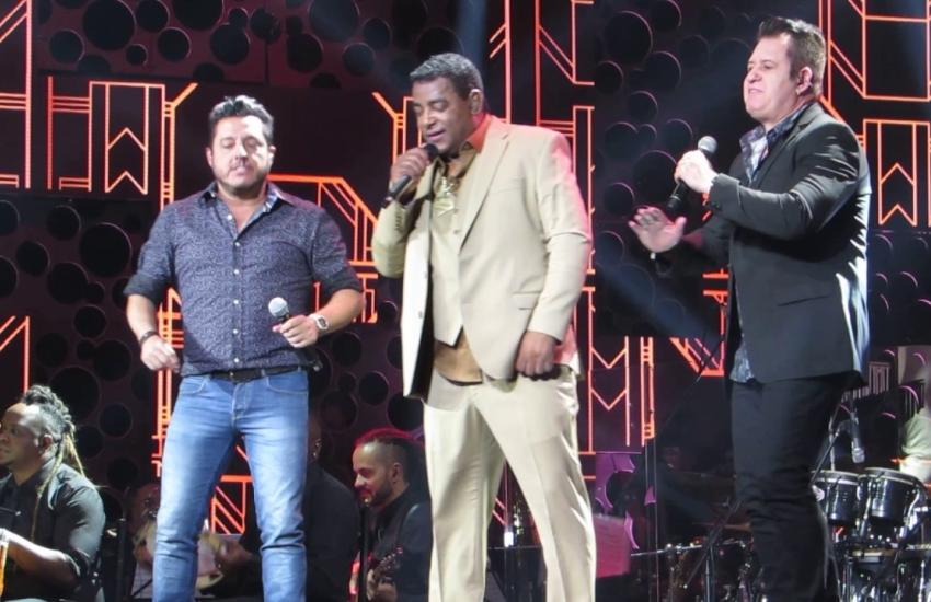 Bruno & Marrone e Raça Negra se encontram em show histórico no sábado (FOTO: Youtube/Reprodução)