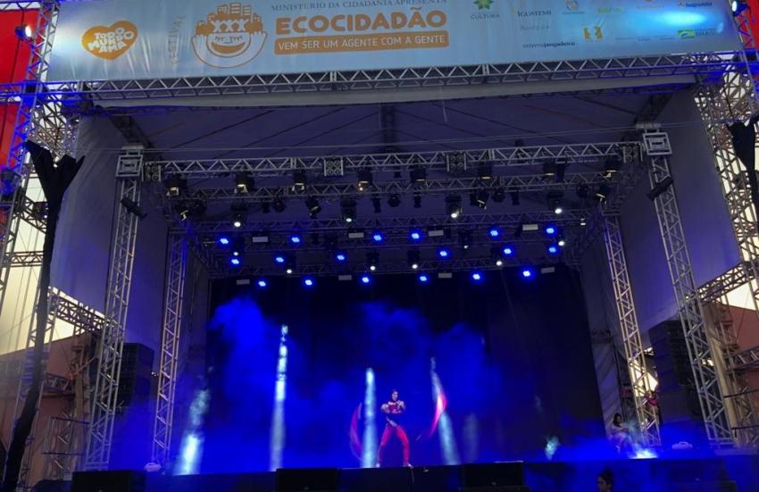 Festival Ecocidadão: crianças se divertem com programação voltada ao meio-ambiente