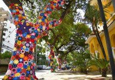 A decoração tem o objetivo de enaltecer o trabalho de artesãos cearenses e aproximar a população da arte (FOTO: Ariel Gomes)