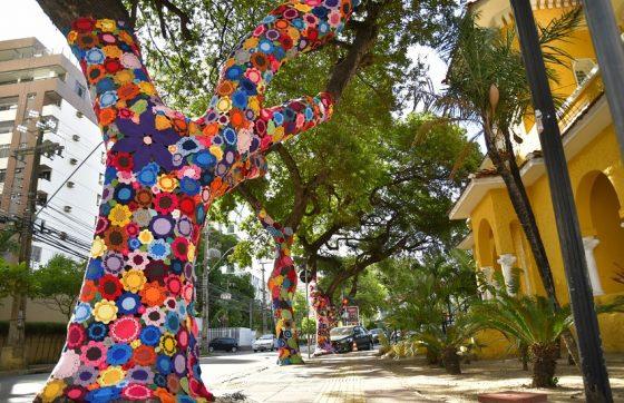 A decoração tem o objetivo de enaltecer o trabalho de artesãos cearenses e aproximar a população da arte (FOTO: Divulgação)