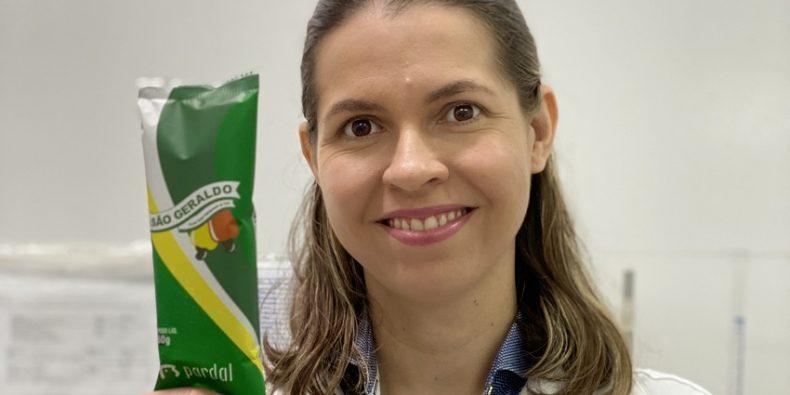 Em dezembro de 2019, o picolé ficou pronto e foi lançado no dia 14 de janeiro (FOTO: Divulgação)