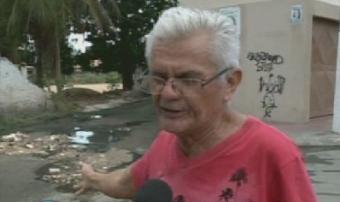 Moradores de Messejana reclamam de buraco que existe há 10 anos