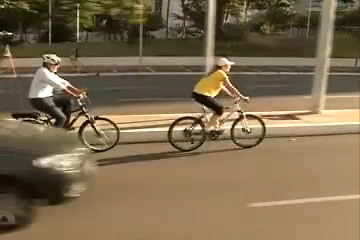 Campanha busca incentivar uso de bicicletas para o trabalho