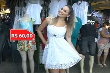 7e1ef846918 A repórter Fernandinha mostra Roupas bonitas e baratas na feira de Messejana