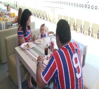 Arena Castelão tem um restaurante aberto ao público