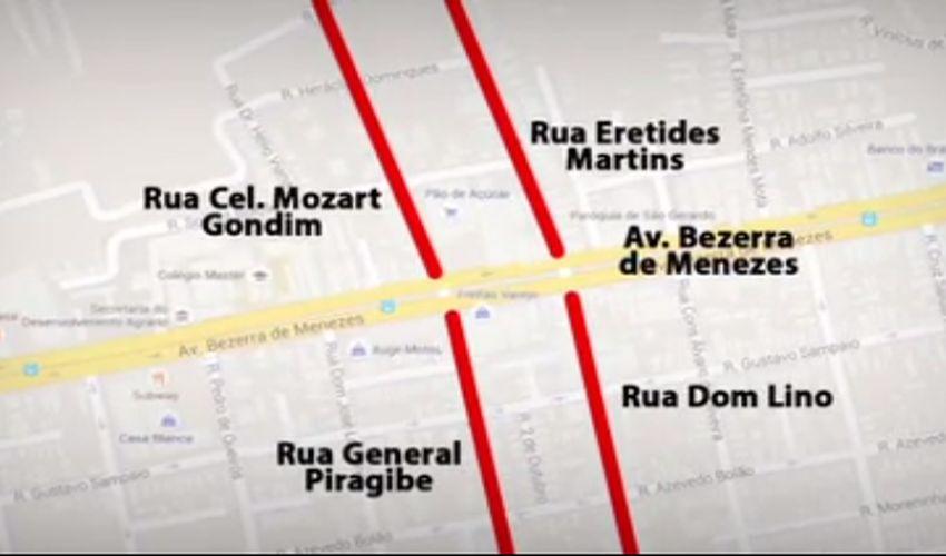 Espaços exclusivos para pedalar em Fortaleza se tornaram moda (FOTO: Reprodução TV Jangadeiro)