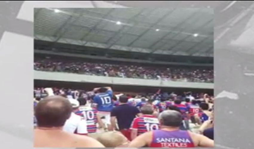 Arena Castelão é palco de pancadaria entre torcidas organizadas
