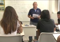 Projeto promove curso de capacitação (FOTO: Reprodução TV Jangadeiro)