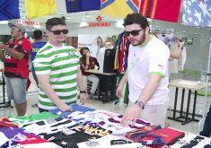 Evento teve a presença dos maiores colecionadores de camisas do Ceará e do Fortaleza. (FOTO: reprodução/ NordesTV)