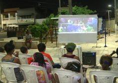 Crianças ficam animadas com a iniciativa. (FOTO: reprodução/ NordesTV)