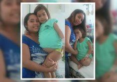Maria Tyciane sofre com doença rara (FOTO: Reprodução TV Jangadeiro)