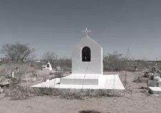 Confusão cemitério em Santa Quitéria (FOTO: Reprodução TV Jangadeiro)