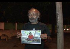 Morador rua companheira morta (FOTO: Reprodução TV Jangadeiro)