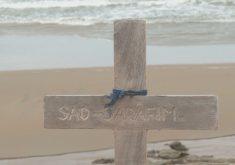 Cemitério à beira mar (FOTO: Reprodução TV Jangadeiro)