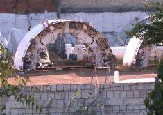 Obra do Metrô de Fortaleza continua parada (FOTO: Reprodução TV Jangadeiro)