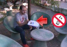 Professor Kledir quer distância de celular(FOTO: Reprodução TV Jangadeiro)