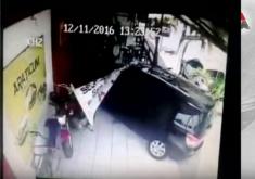 Acidentes e assaltos em restaurante (FOTO: Reprodução TV Jangadeiro)