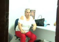 Falsa advogada promete vantagens a servidores (FOTO: Reprodução TV Jangadeiro)