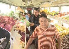 Frutas e verduras tem variações de mais de 200% (FOTO: Reprodução TV Jangadeiro)