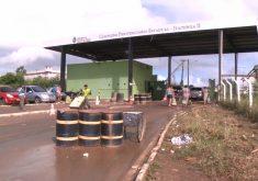 Clima apreensão durante visitas no presídio de Itaitinga (FOTO: Reprodução TV Jangadeiro)