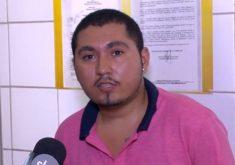 Rapaz exige emprego e ameaça explodir supermercado (FOTO: Reprodução TV Jangadeiro)