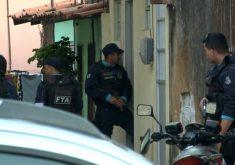 Fugiu de abordagem policial e manteve esposa e filho de reféns (FOTO: Reprodução/TV Jangadeiro)