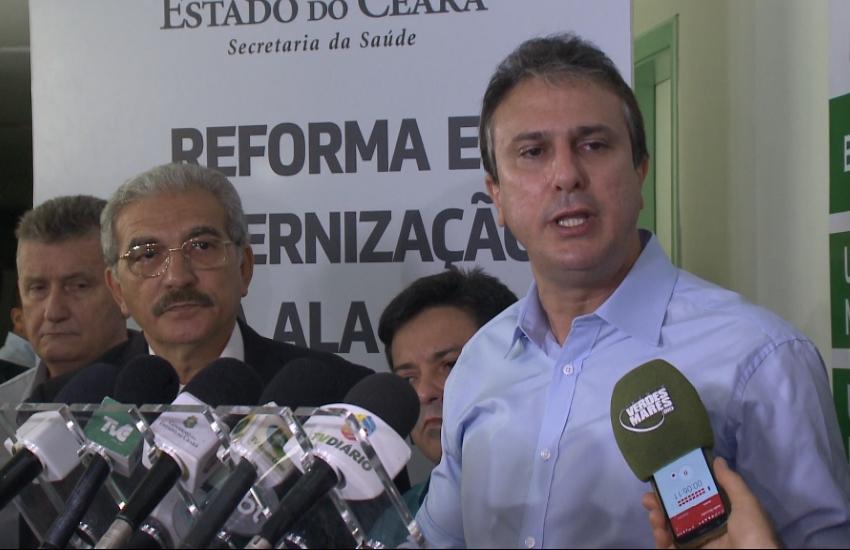 """""""Não aceito nenhuma irregularidade no meu governo"""", defende Camilo Santana"""