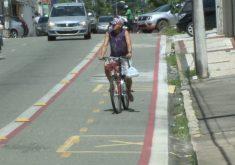 Cresce o número de ciclista em Fortaleza (FOTO: Reprodução TV Jangadeiro)