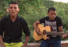 Irmãos gêmeos formam dupla sertaneja em Maranguape (FOTO: Reprodução TV Jangadeiro)