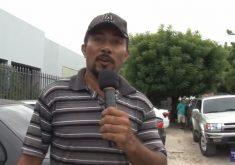 Musica da galinha faz sucesso em estacionamento em Fortaleza (FOTO: Reprodução TV Jangadeiro)
