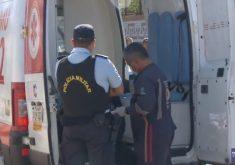 Bandidos baleados e policial ferido em troca de tiros (FOTO: Reprodução TV Jangadeiro)