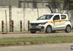Teste de direção são monitorados por câmeras (FOTO: Reprodução Nordestv)