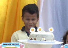 Garoto ganha festa de aniversário dos seus sonho (FOTO: Reprodução Nordestv)