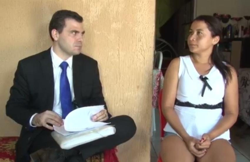 """Projeto """"Paz no Lar"""" oferece visitade juízes a vítimas de violência doméstica"""