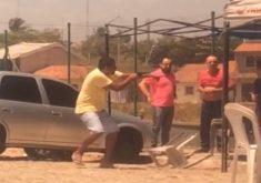 Homens roubam motoristas de Uber (FOTO: Reprodução TV Jangadeiro)