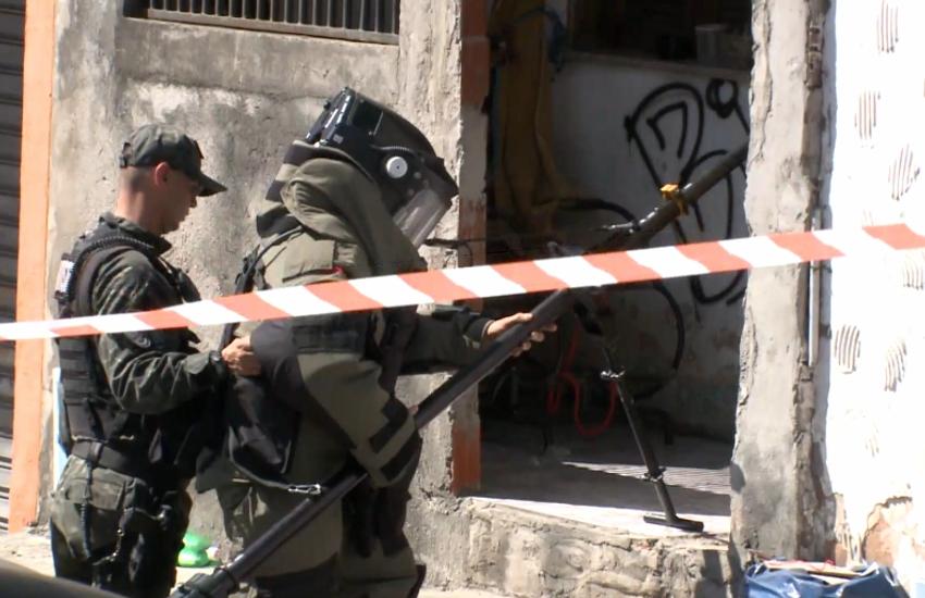 Casal é preso com explosivos de 3 kg escondidos dentro de sacas de feijão