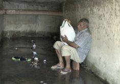 Situações de pessoas que moram no meio da rua(FOTO: Reprodução TV Jangadeiro)