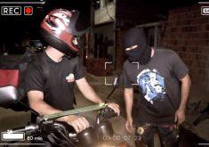 """Pizzaria Chaparral sofre com ação do ladrão """"Fome Zero""""(FOTO: Reprodução TV Jangadeiro)"""