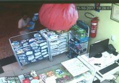 Homem rouba fralda em Quixeramobim (FOTO: Reprodução TV Jangadeiro)