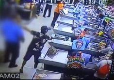 Supermercados estão se tornando alvo frequente de bandidos(FOTO: Reprodução TV Jangadeiro)