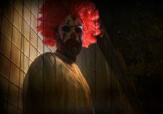 Palhaço macabro assombra população(FOTO: Reprodução TV Jangadeiro)