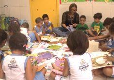 A demanda por vagas em creches para 2018 ainda não está fechada (FOTO: Reprodução/TV Jangadeiro)