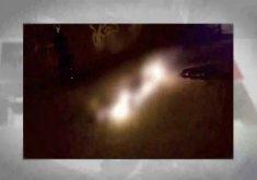 Bando retira corpo de velório e ateia fogo(FOTO: Reprodução TV Jangadeiro)